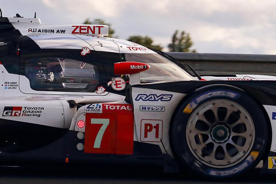 Revved up and ready to fight: Toyota on provisional Le Mans pole