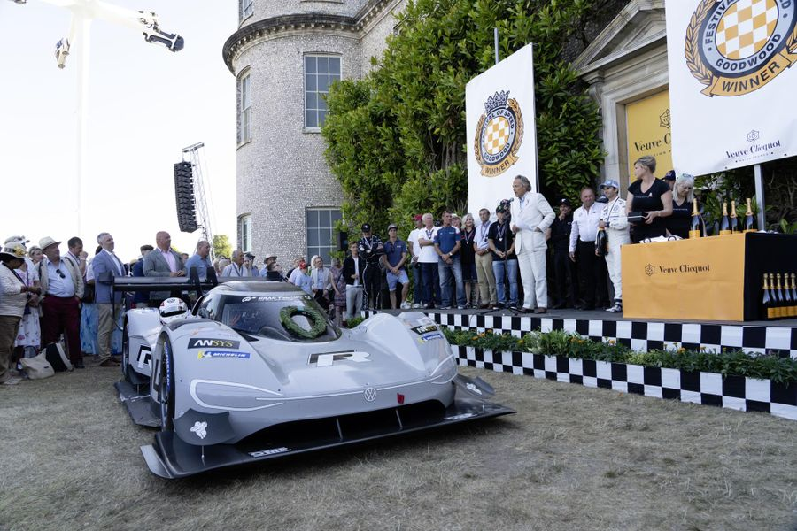 Volkswagen ID.R is set to defend its title at Goodwood Festival of Speed