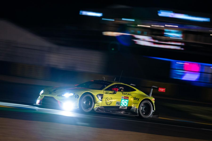 Aston Martin's Marco Sørensen takes GTE Pro pole for 24 Hours of Le Mans