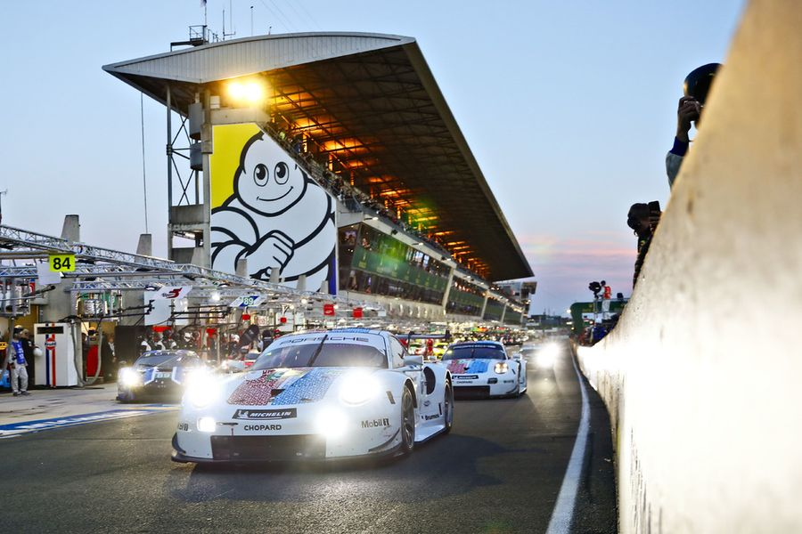 Porsche to contest 24 Hrs of Le Mans GTE from fourth on the grid