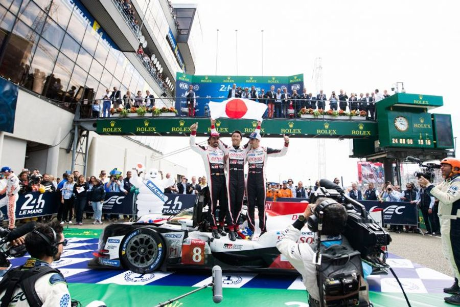 Toyota celebrate 1-2 at Le Mans; Ferrari victorious in epic LMGTE Pro battle