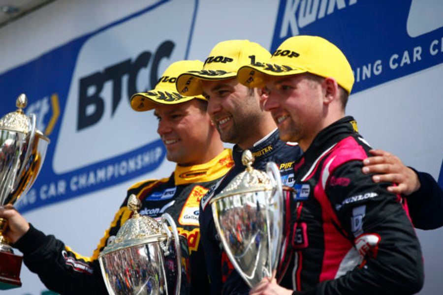 Andrew Jordan converts pole into his fourth BTCC win