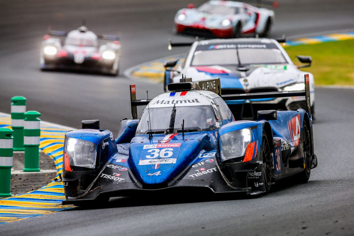 Signatech Alpine Matmut doubles up: victory in Le Mans 24hr LMP2,WEC World Title