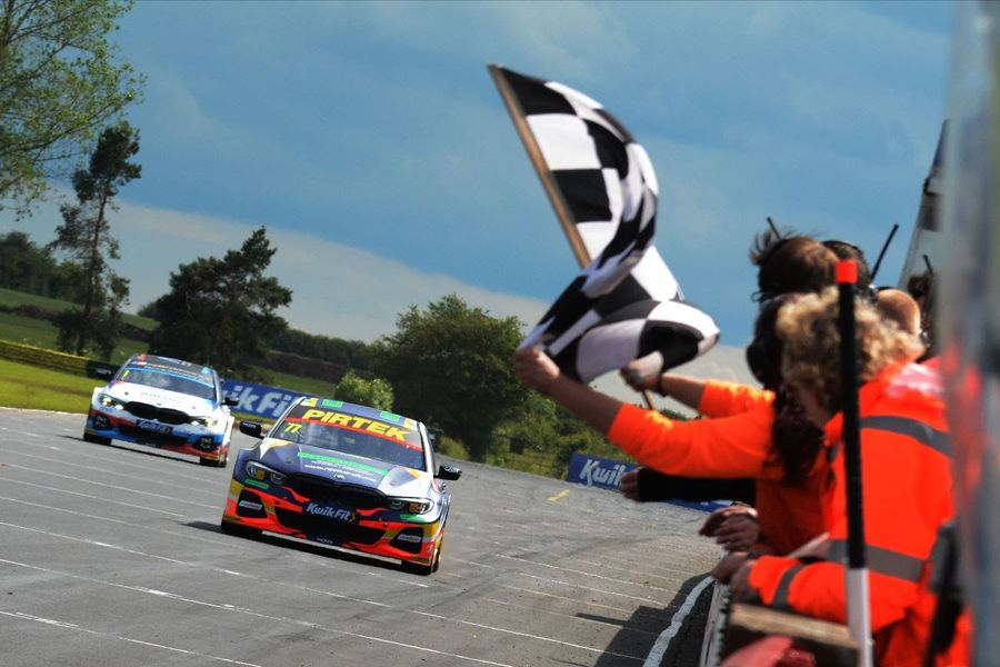 Andrew Jordan takes a BTCC double before Tom Chilton wins final race at Croft