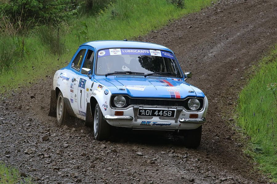 British Historic Rally Championship heads to the Red Kite Stages