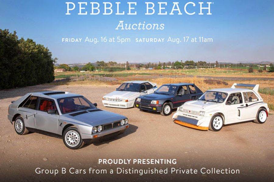 Group B Cars are On Track for The Pebble Beach Auctions