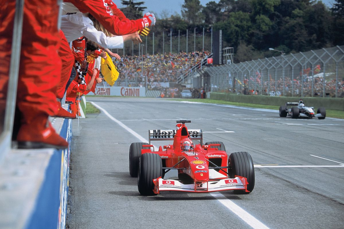 Formula 1 and RM Sotheby's to auction Schumacher's Ferrari F2002 in Abu Dhabi