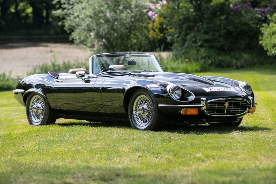 1 of 50 Series 3 commemorative Jaguar E-types heads to auction