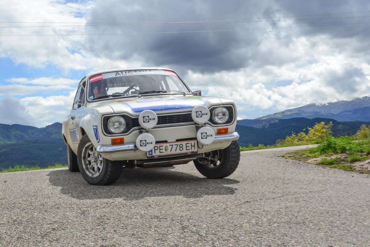 1972 Ford RS2000 clinches Bespoke Rallies' Pyrenees 1000