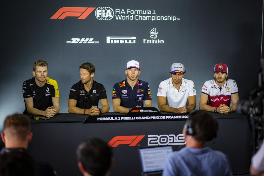 French Grand Prix Drivers' Conference