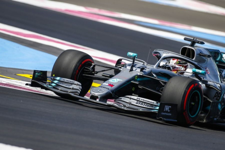 Mercedes on top of French FP1 and FP2
