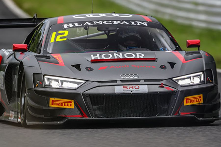 Rump and Picariello share Blancpain GT World Challenge Asia GT3 poles