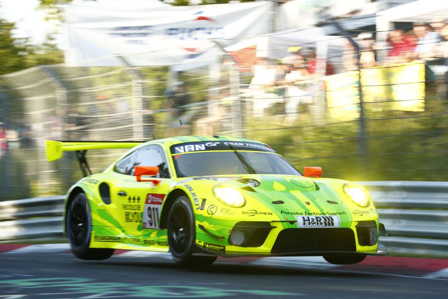 Porsche tackles Nürburgring 24-hour race from third on the grid