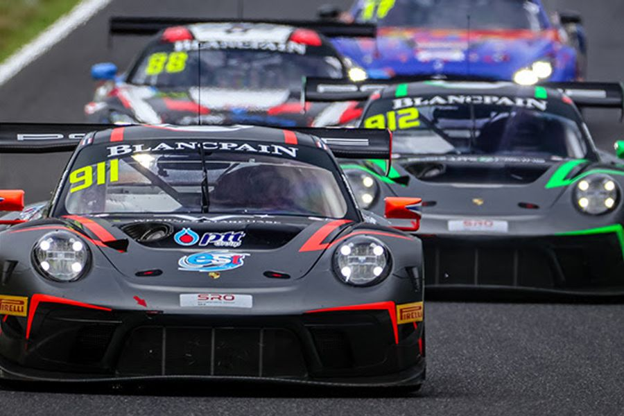 Sathienthirakul and Hamprecht lead Porsche podium sweep at Suzuka