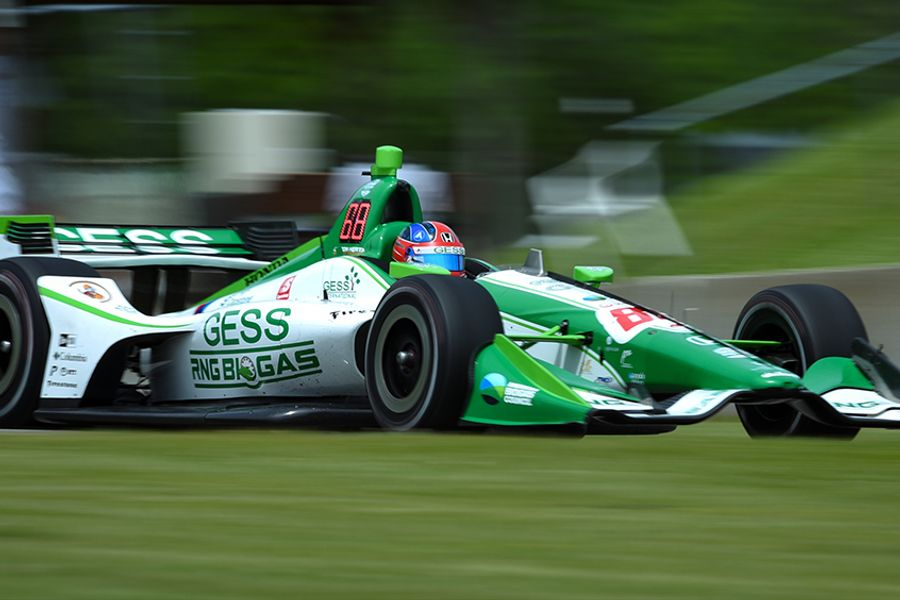 Herta becomes youngest pole winner in Indy car history