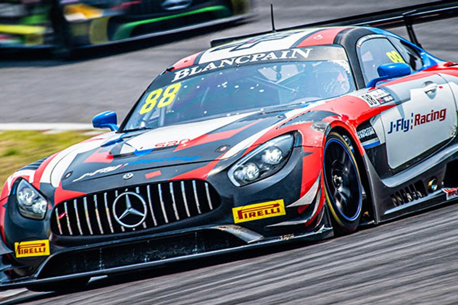 Craft-Bamboo's Lee and Picariello win Suzuka Blancpain GT Asia thriller
