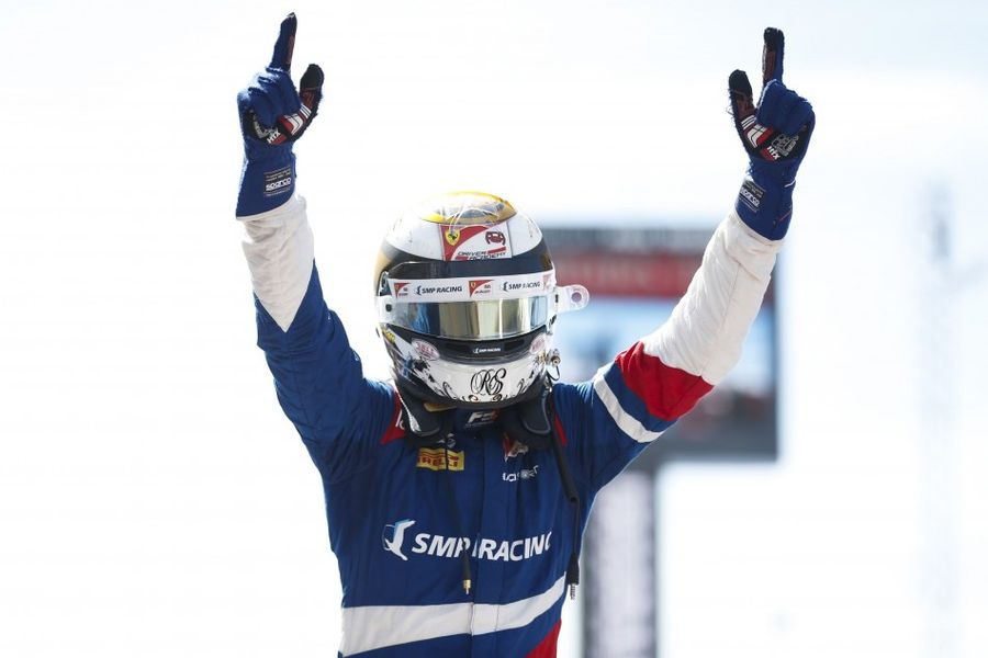 Robert Shwartzman earns PREMA Racing their fourth FIA F3 win