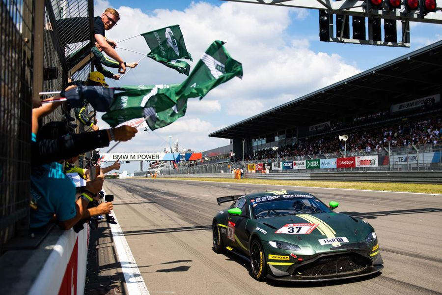 Aston Martin Vantage GT4 takes debut Nürburgring 24-hour class win