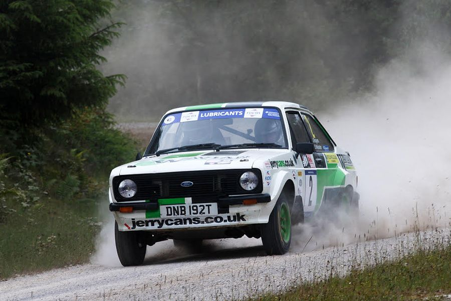 Webster tops BHRC on Red Kite Stages