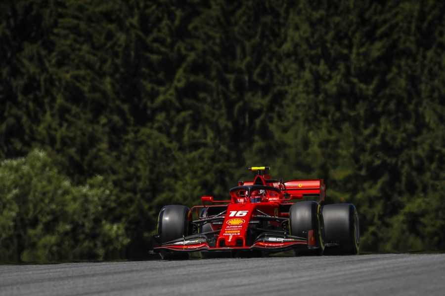 Leclerc quickest in incident packed Austrian Grand Prix  FP2