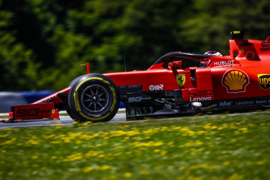 Leclerc takes second career F1 pole in Austria