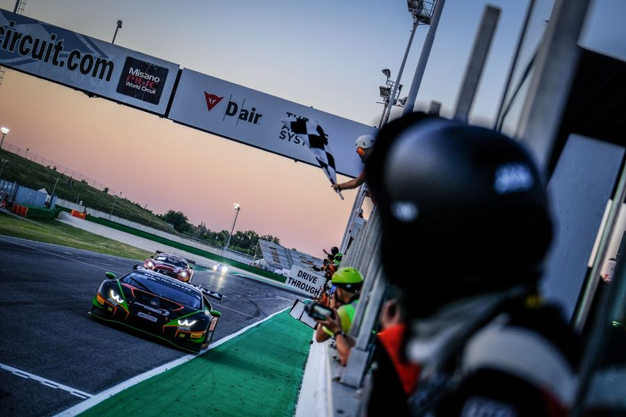 Caldarelli and Mapelli clinch Blancpain GT home triumph for Lamborghini