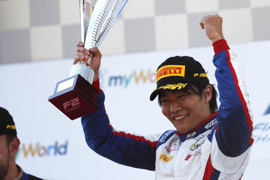 Nobuharu Matsushita claims first F2 Feature win at 2019 Race of Austria