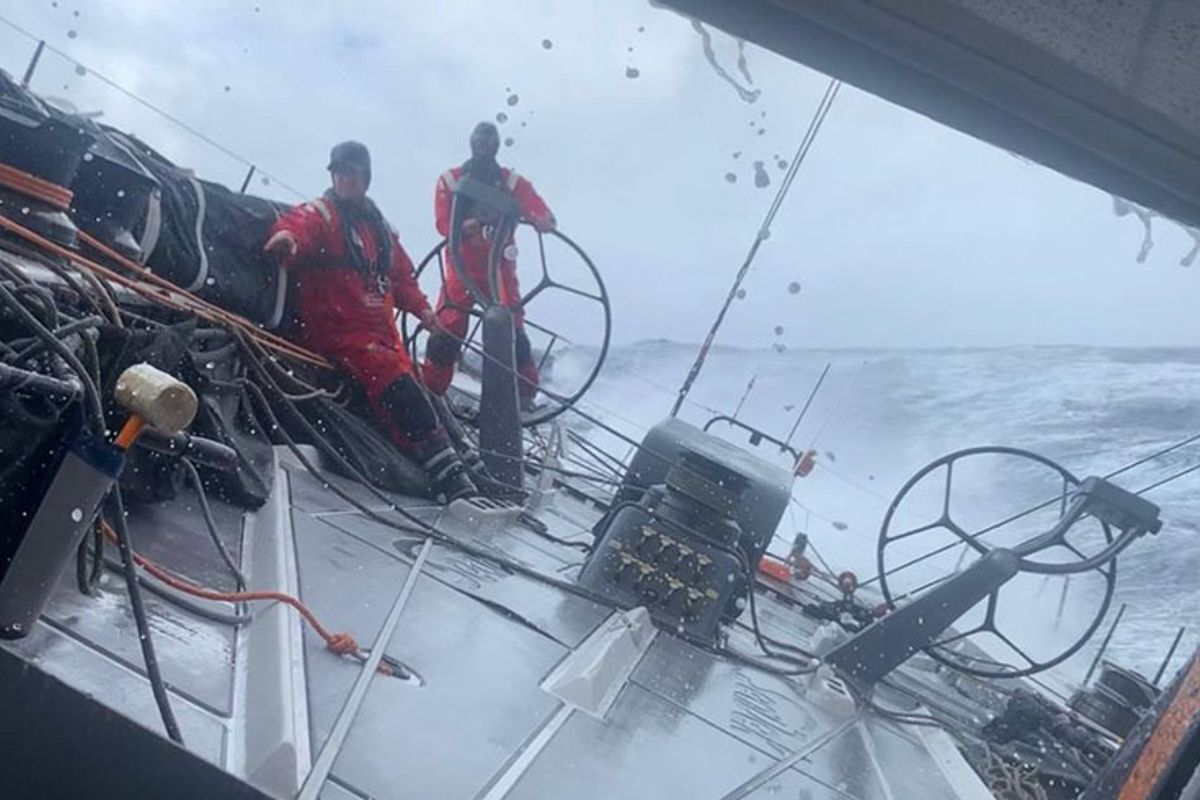 Transatlantic Race: Skirting the ice zone