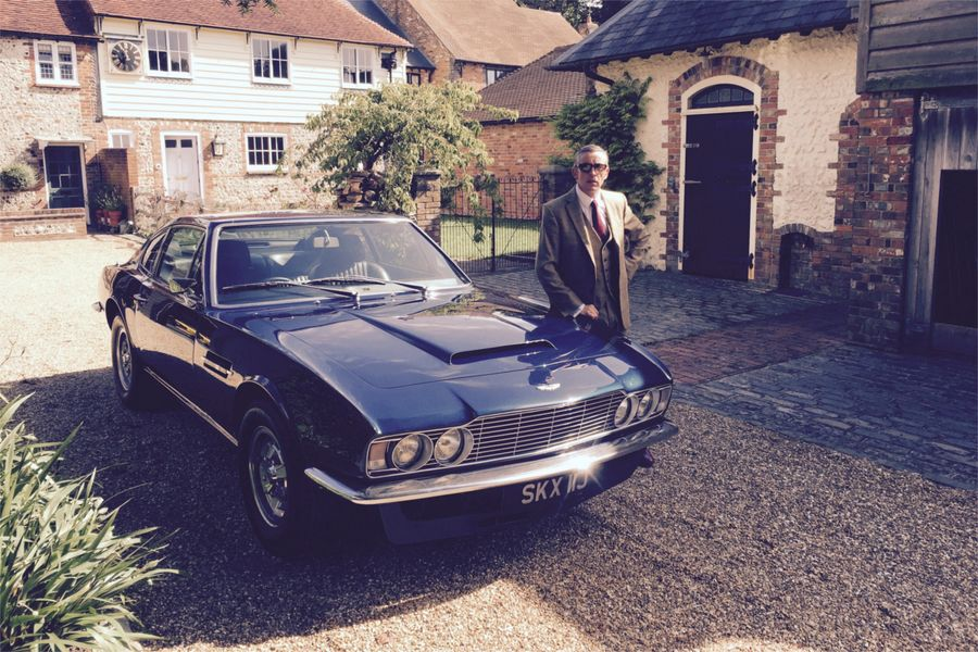 Steve Coogan's 1970 Aston Martin DBS V8 to cross the block at Silverstone Classic