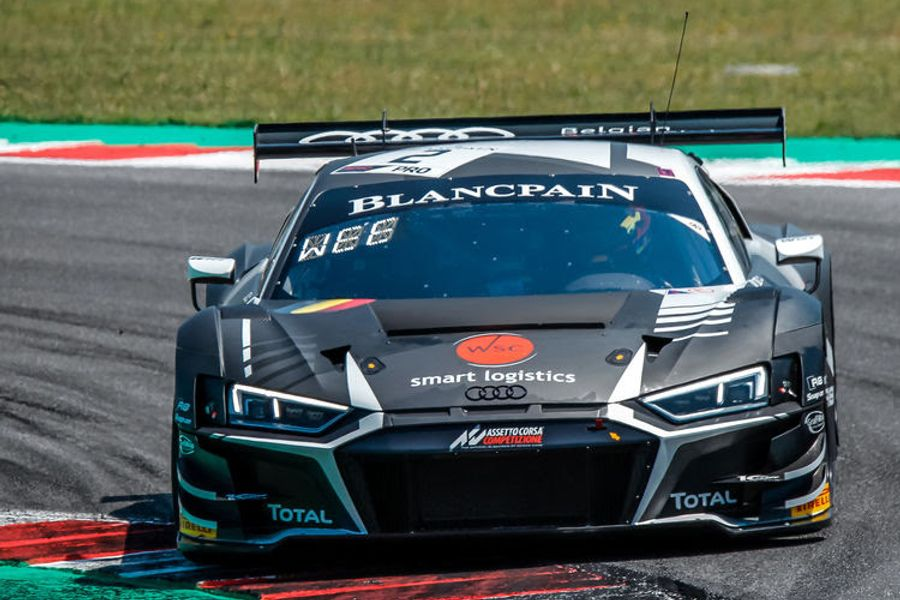 First victory of the Audi R8 LMS in Blancpain GT Series this season