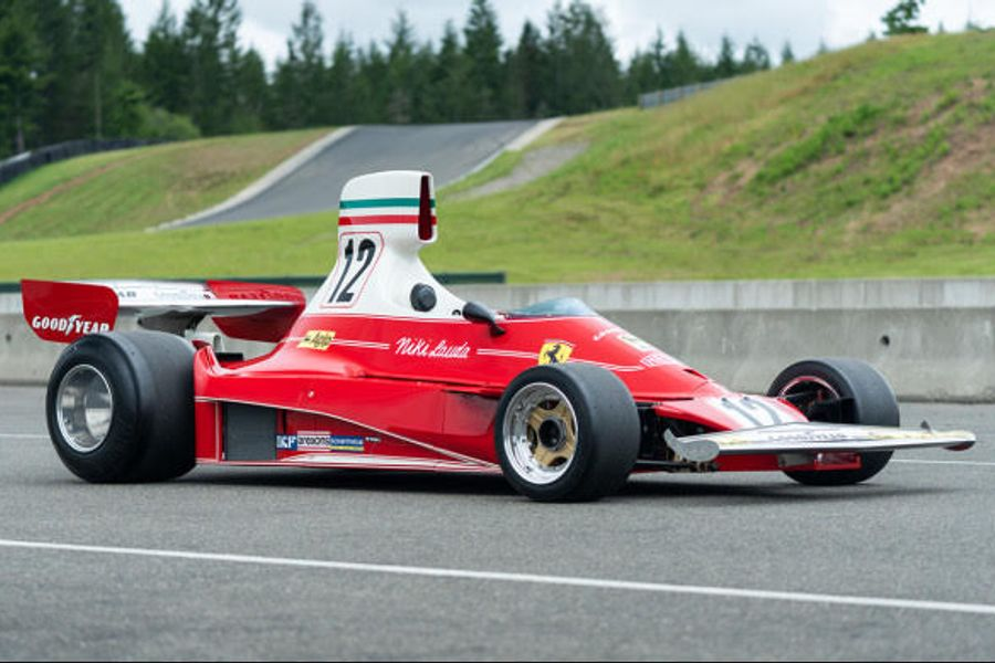 French GP winning Ferrari 312T on offer at Goodings