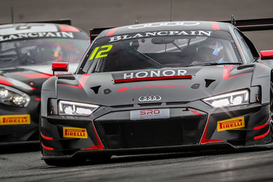 Tan and Rump claim Audi's first Blancpain GT Asia win of the season at Fuji