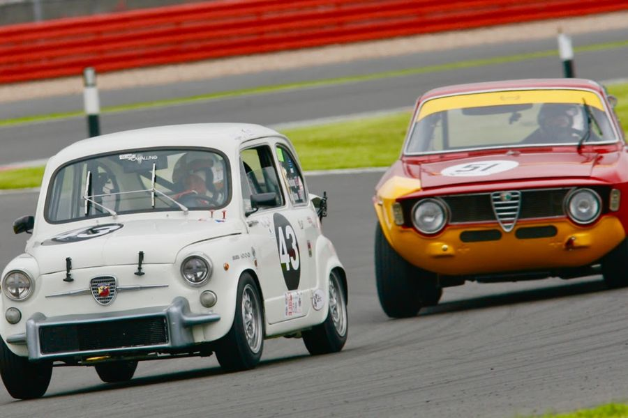 Abarth and Alfa Romeo join the Silverstone Classic party