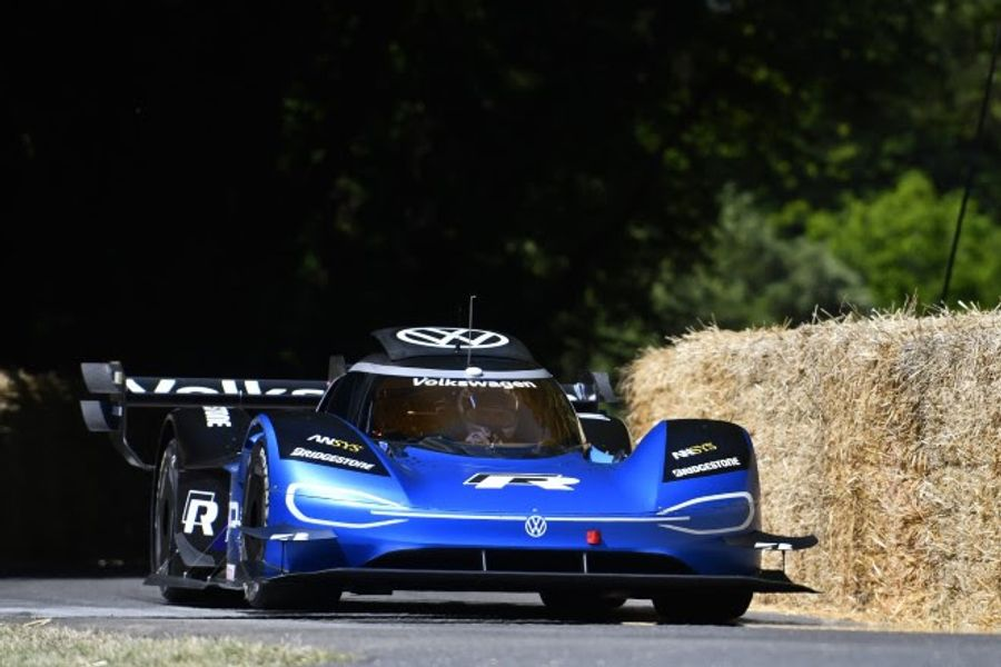 Volkswagen electrifies Goodwood's all-time hill record