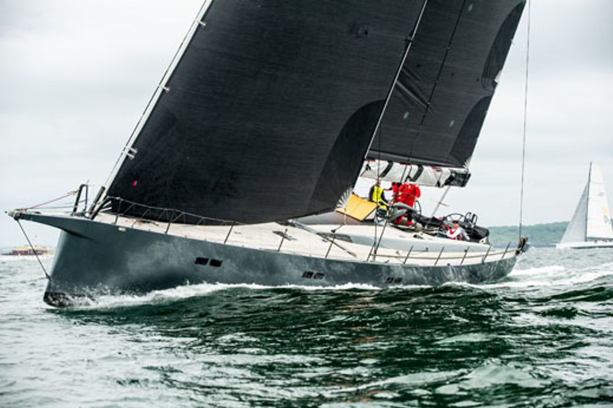 Transatlantic Race swallowed up in Celtic Sea parking lot