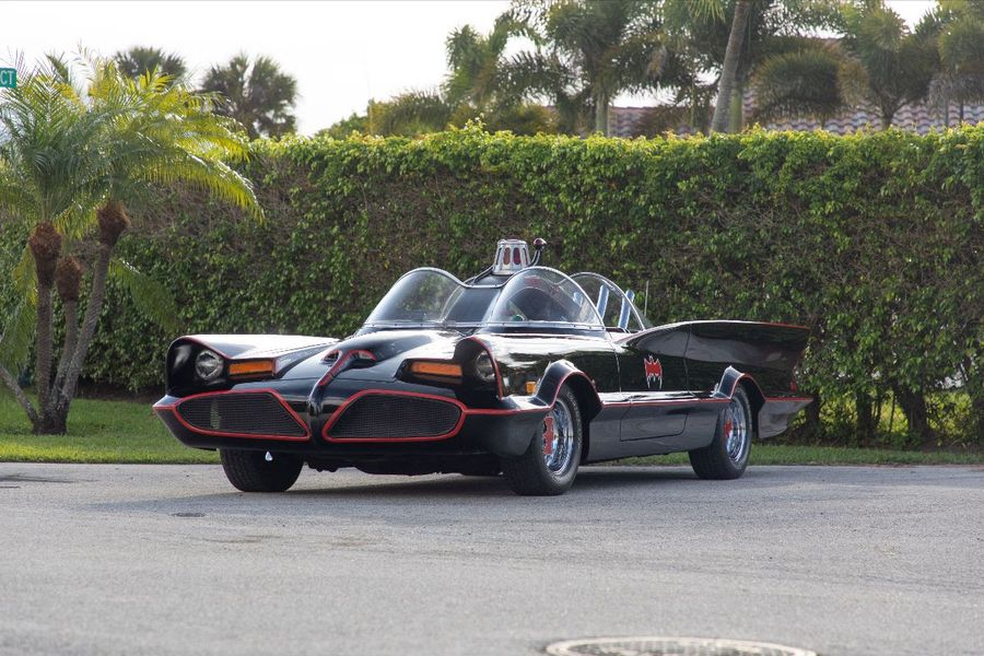 Whamm! Bam! Pow! Wow! 1966 Batmobile Replica Races to Mecum Harrisburg Auction