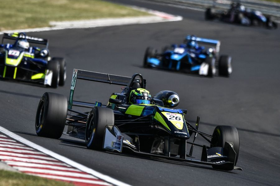 First Rookie Class Win Of Euroformula Season For Double R's Lundqvist At Hungaroring