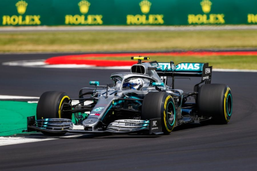Bottas quickest at British GP Silverstone Free Practice