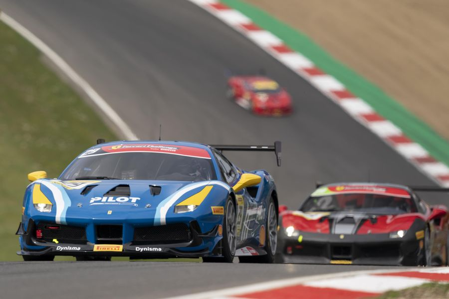 Ferrari Challenge UK heads to Croft