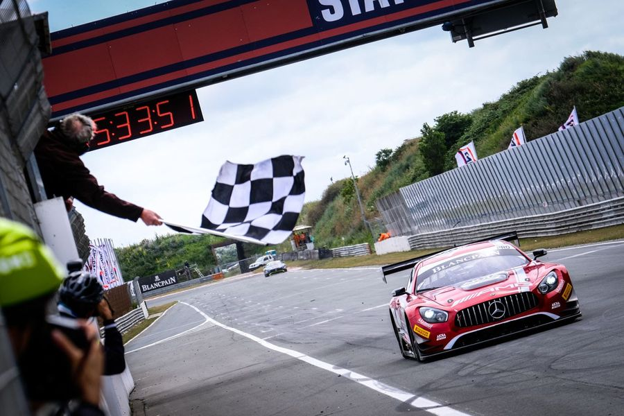 Marciello and Abril dominate at Zandvoort Blancpain GT