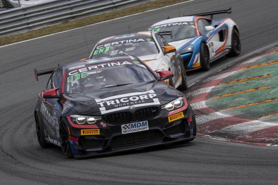 MDM Motorsport BMW wins home race at Zandvoort GT4 European Series