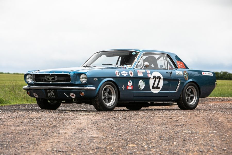 Classic American Muscle at Silverstone Classic Auction