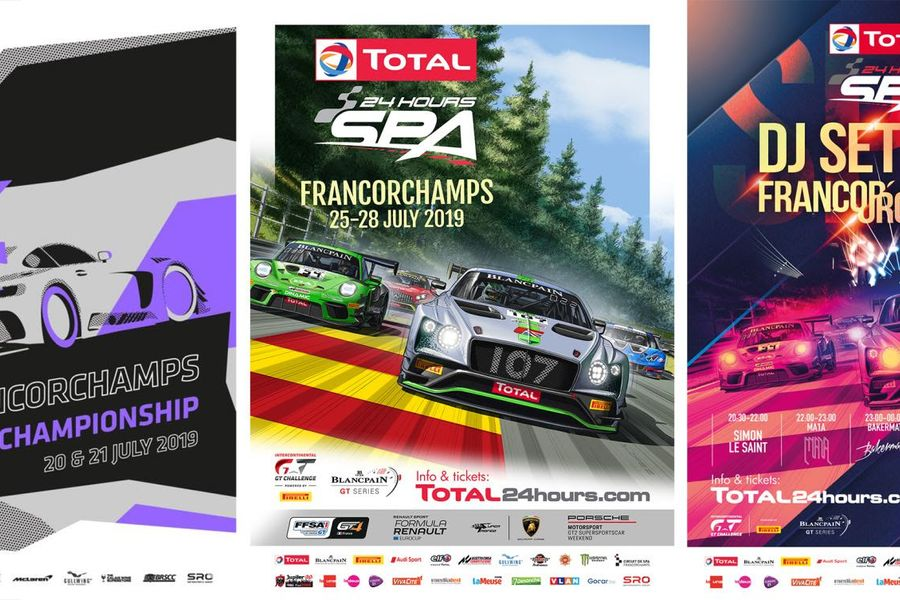 SRO Spa Speedweek and 24 Hours of Spa promise 10 days of action in the Ardennes