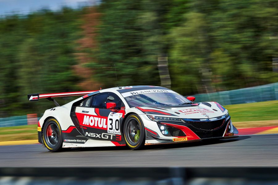 Honda Team Motul ready for Spa 24hr assault with NSX GT3