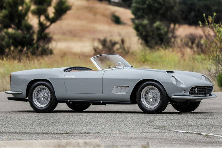 1958 Ferrari 250 GT LWB California Spider at Gooding's Pebble Beach auction