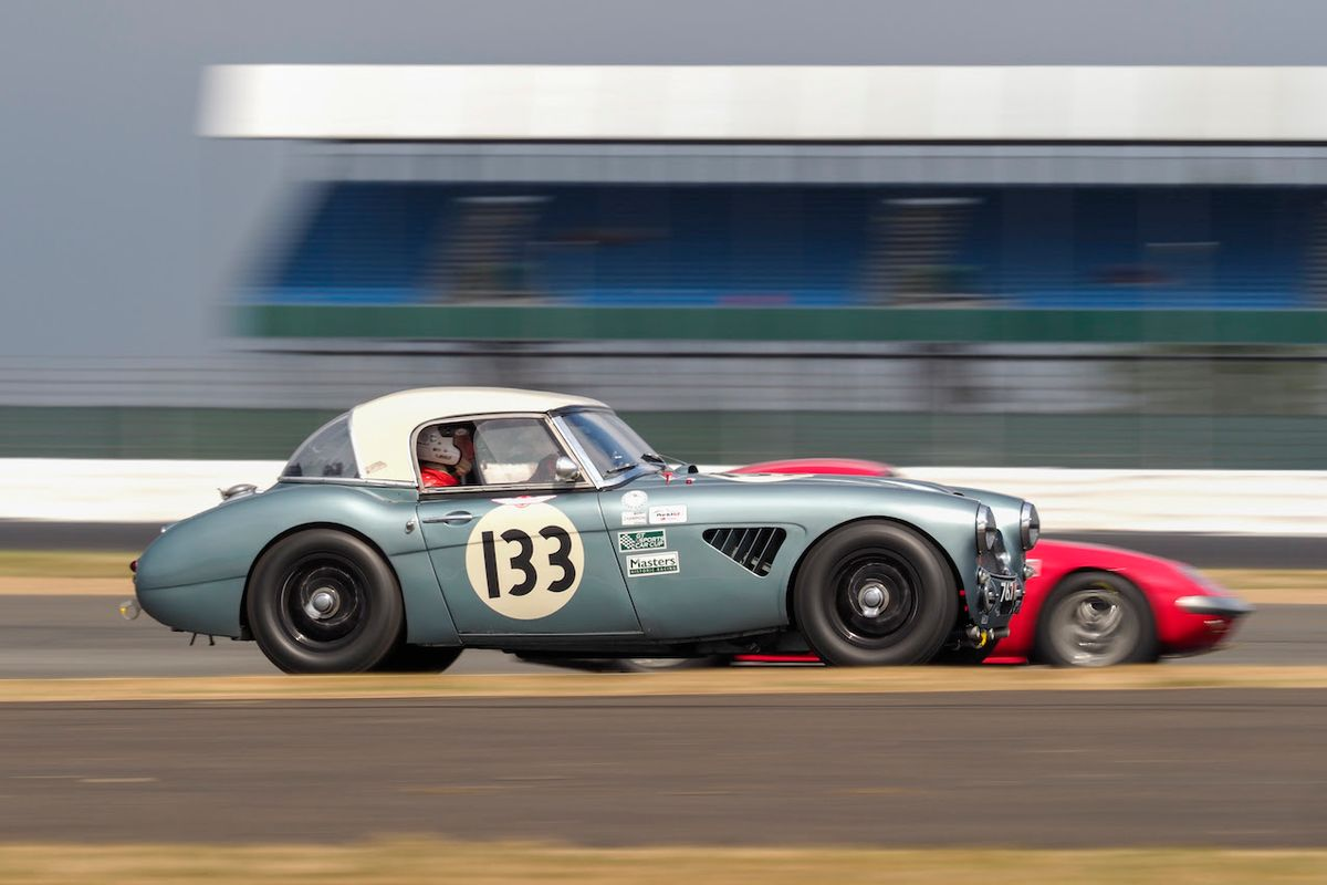 Motor Racing Legends Set to Dazzle at Silverstone Classic