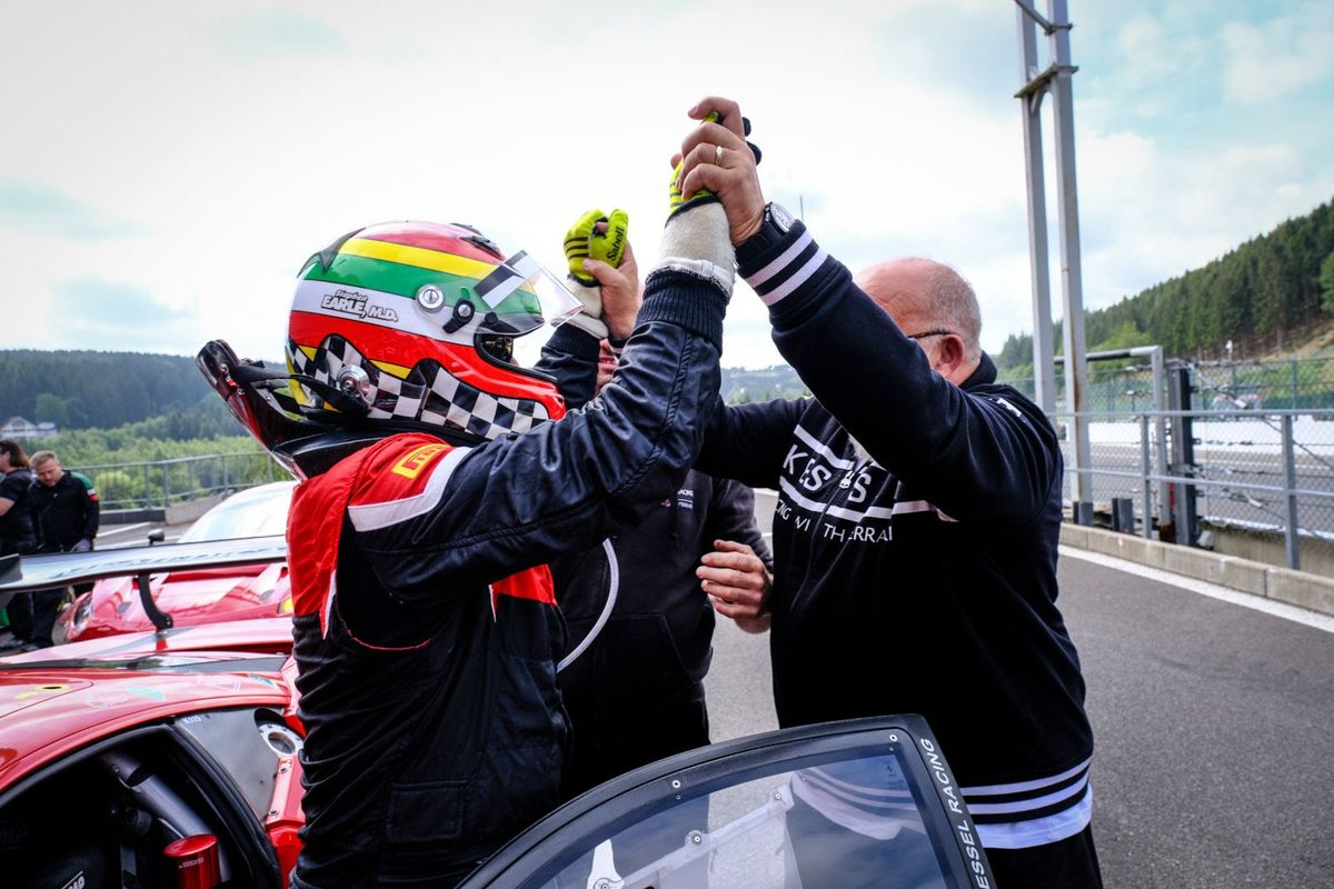 Moller holds on for fourth Blancpain GT Sports Club victory