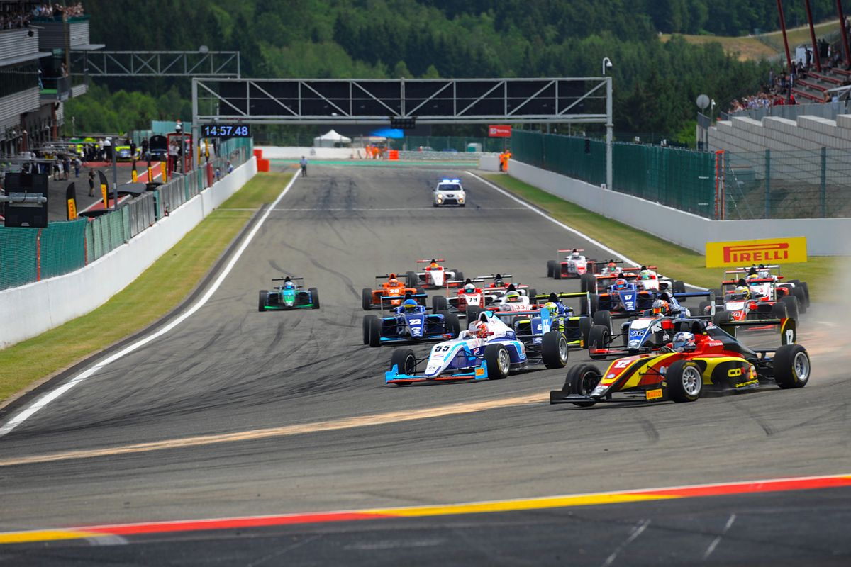Varrone and Simmons the F3 winners on sensational Spa Sunday