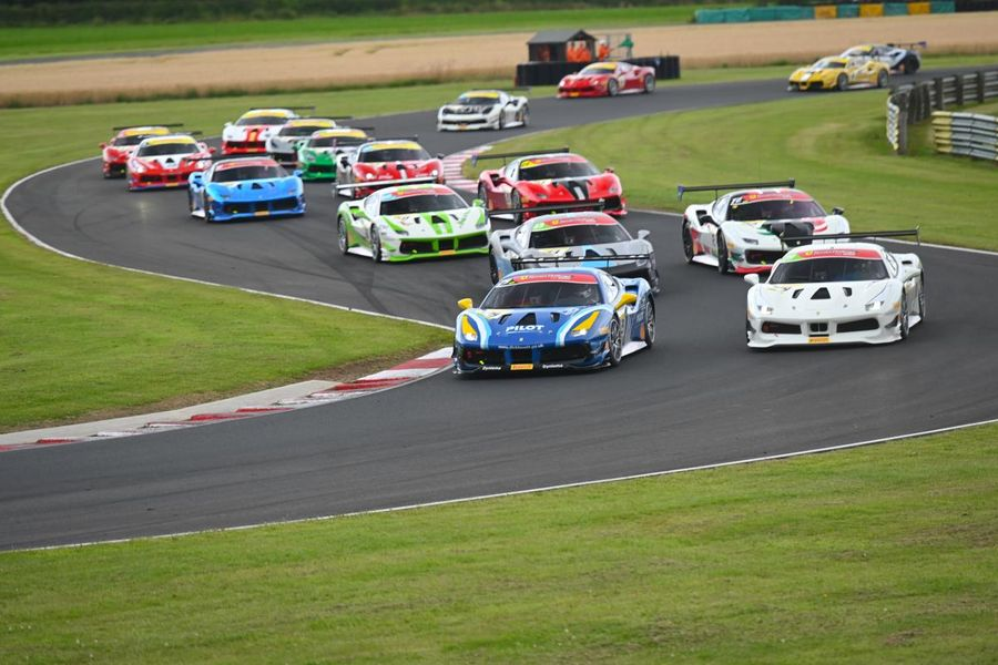 Maiden Ferrari Challenge UK Win For Jamie Clarke