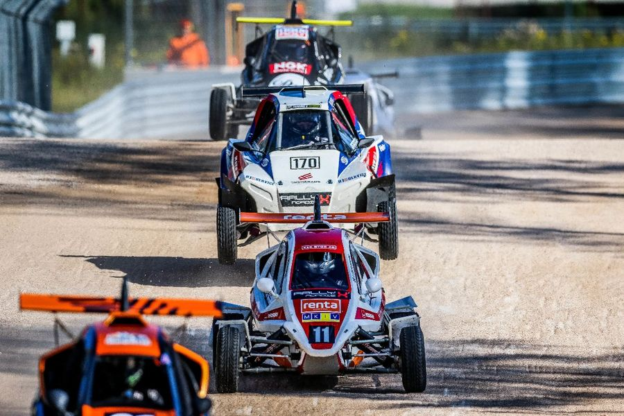 Titanic RallyX Nordic title fight reaches fever pitch at Finnskogbanen